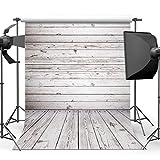 Damier 6ft(W) x 9ft(H) Holzboden Fotografie Hintergründe Holzwand Foto Hintergrund