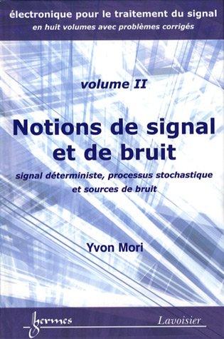 Notions de signal et de bruit : Signal déterministe, processus stochastique et sources de bruit