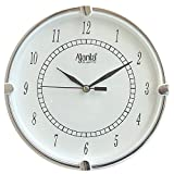 Ajanta Fancy Analog Wall Clock Small Size For Home And Office Round White