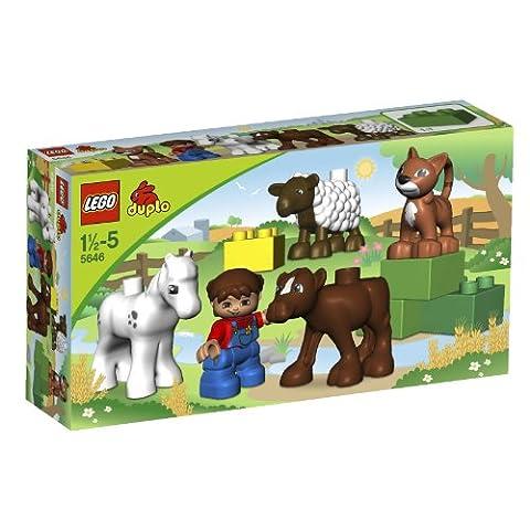 LEGO - 5646 - Jeu de Construction - DUPLO LEGOVille - Les Bébés Animaux de la Ferme