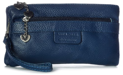 Big Handbag Shop, Poschette giorno donna Blu (Medium marineblau)