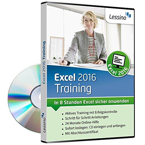 Excel (Excel 2016 Training - In 8 Stunden Excel sicher anwenden [1 Nutzer-Lizenz])