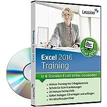 Excel 2016 Training - In 8 Stunden Excel sicher anwenden [1 Nutzer-Lizenz]