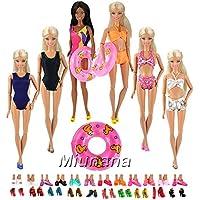 Miunana 12 Artículo=5 Trajes de Baño Bañador Suave Playa Bikini Perfeccione Verano Ropa Biquini