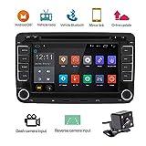 Camecho Doppel DIN Android Camecho Auto Stereo CD DVD Player mit GPS Navi Touch Screen Auto Multimedia Player Auto Radio Audio für VW/Golf/6/Golf/5/Passat/Jetta/T5/EOS/POLO/Touran/SEAT/Sharan/CANBus (mit Rückfahrkamera) …