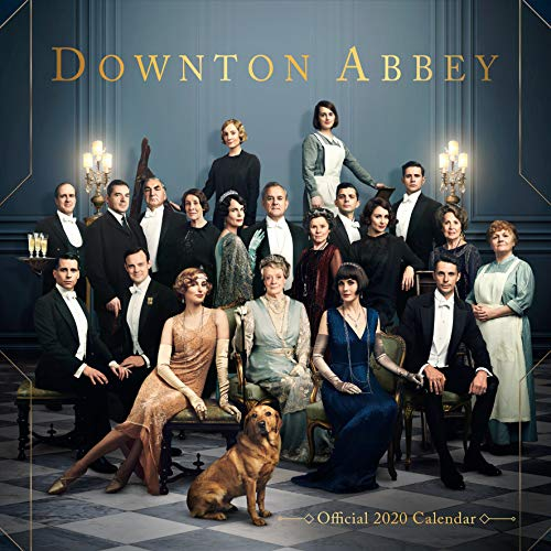 Downton Abbey 2020 Calendar - Official Square Wall Format Calendar par Downton Abbey
