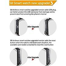 Gugutogo ZGPAX S8 Reloj inteligente Bluetooth MTK6572 Dual Core GPS WiFi Smartwatch teléfono
