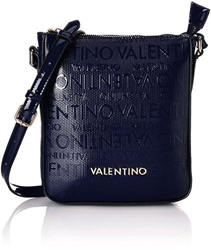 Valentino by Mario Valentino Damen Clove Umhängetasche, Blau (Notte), 2.5x21.0x18.0 cm (Valentino Schuhe Blau)