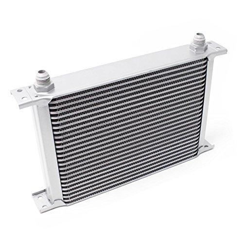 Wiltec Radiatore dell´Olio Universale Alluminio 25 File Raffredamento dell´Olio