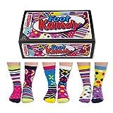 6 Verrückte Socken 15 Kombis - Oddsocks Foot Kandy