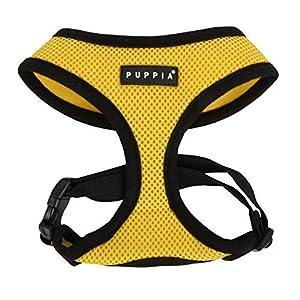 Puppia Soft Harness, L, Yellow