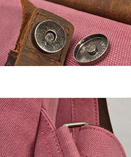 Männer Retro-Stofftaschen Schulranzen A6