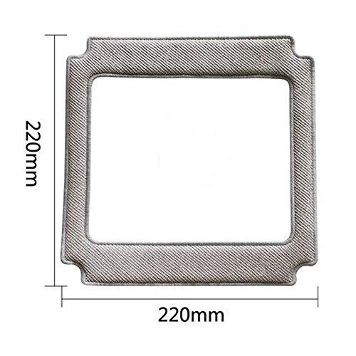 NTNT 2X Replacement Mikrofaser-Pads für Ecovacs Für Winbot 830 Staubsaugerzubehör -