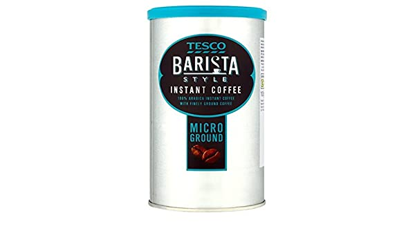Tesco Barista Style Instant Coffee 100g Amazoncouk Grocery