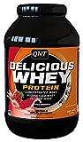 QNT Delicious Whey Protein Powder, Strawberry, 1 kg