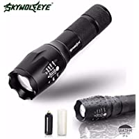 WINWINTOM Tactical Flashlight LED G700 X800 Zoom Super Bright grado (Titolare Maglite)