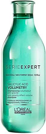 L'Oréal Professionnel Paris   Shampoo professionale per capelli fini e piatti Volumetry Serie Expert, Formula volumizzante anti-gravità - 300 ml