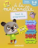 Tout le programme à la maternelle Petite section : 3-4 ans