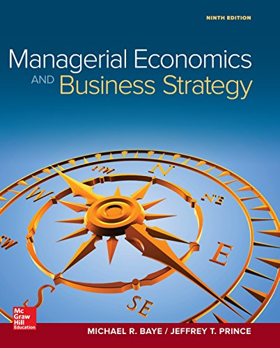 eBook for Managerial Economics & Business Strategy (Mcgraw-hill Series Economics) (English Edition)