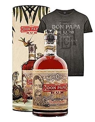 Don Papa Geschenkset - Rum 0,7l + T-Shirt in Geschenkdose