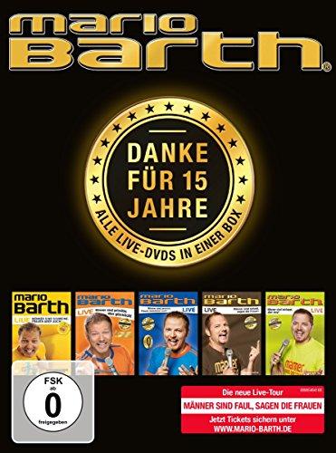 Mario Barth - Danke für 15 Jahre: Alle Live-DVDs in einer Box! Preisvergleich