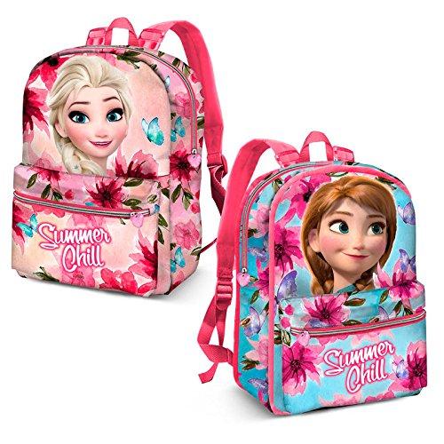 Acheter en ligne Karactermania Frozen Summer Chill-Reversible 2-in-1 Backpack Sac à Dos Enfants, 40 cm, 13 liters, Rose (Pink)