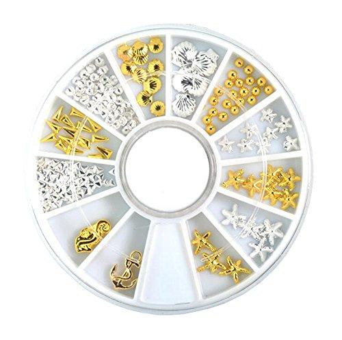 3D Design Nail Art Décorations Nail Polish Art Accessoire