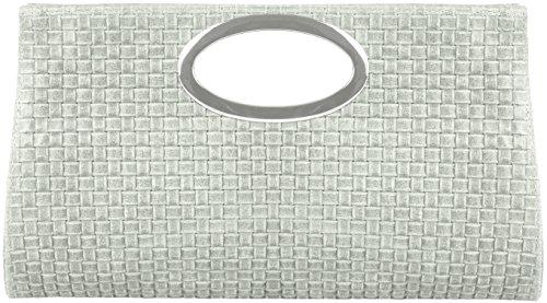 emmy-accessoires-wynona-clutch-henkeltasche-kroko-optik-wildleder-flecht-leder-weissgrau