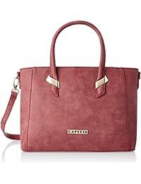 Caprese  Women Tote Bag (Carmine)(TEREBMDCAR)