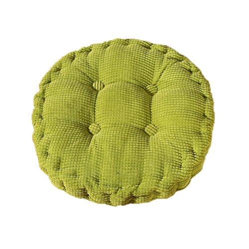 MSYOU - Cojín de asiento para silla (redondo, cómodo, para casa, cocina,...