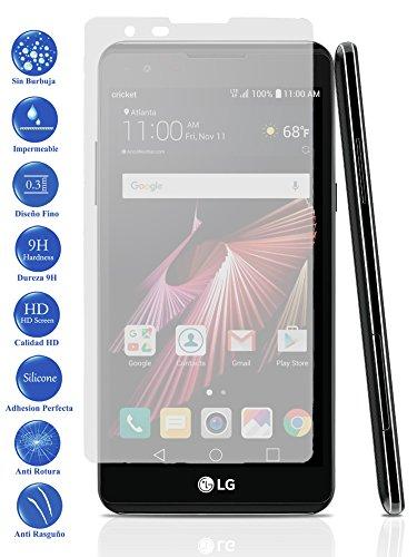 Protector de Pantalla Cristal Templado Vidrio Premium para LG X Power
