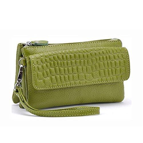 GSPStyle002238-P - Borsa a spalla donna Verde (verde)
