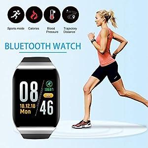 awhao-123 KY117 Smart Wristband Fitness Tracker IP68 Frecuencia cardíaca a prueba de agua Modo deportivo multifuncional… 3
