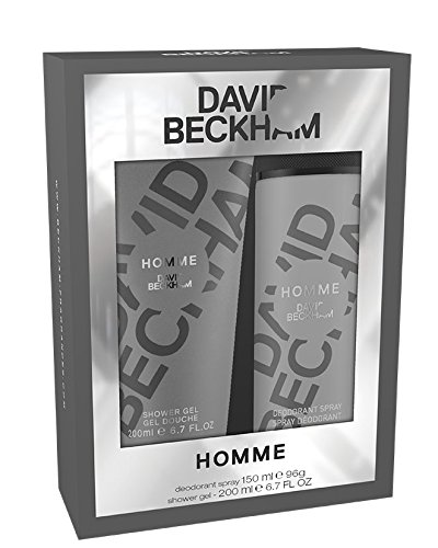 David Beckham Homme Body Care Gift Set for Men Body Spray and Shower Gel, 15/2 ml
