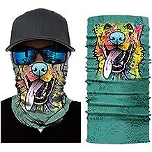 Pairka 15 Type de foulard multifonction Tier Face Shield Cagoule Bandana  Foulard Respirabilité Masque Masque Masque 4bfd15c4ddd