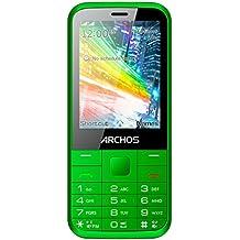 Archos F28Mobiltelefon, entsperrt 2G, Display: 2,8Zoll(7,1cm), Dual-SIM, Grün