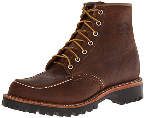 Original Chippewa Collection Men's 1901M64 Moc Toe Lugged Field Boot, Brown Bomber,...