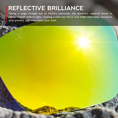Verres de rechange pour Oakley Dispatch 1 — Plusieurs options 24K Or MirrorShield® - Non-Polarisés