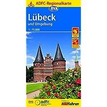 ADFC-Regionalkarte Lübeck und Umgebung, 1:75.000, reiß- und wetterfest, GPS-Tracks Download (ADFC-Regionalkarte 1:75000)