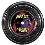 Pro Tennissaite Hexaspin Twist für Spin 200m