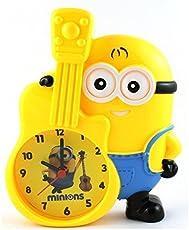 Shopkooky Premium Minion Character Alarm Clock with Designer Piggy Bank for Kids (Multicolour)