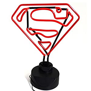 Groovy Superman Neon Light Official DC Comics Boxed Gift