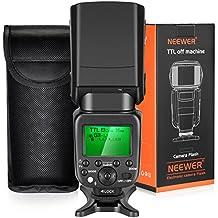 Neewer Wireless Master Slave Flash Speedlite 2,4G HSS 1/8000s TTL GN58 per Fotocamere Sony A7 A7R A7S A7II A7RII A7SII A6000 A6300 A6500 A77II A58 A99 RX10 con Diffusore Solido (NW630)