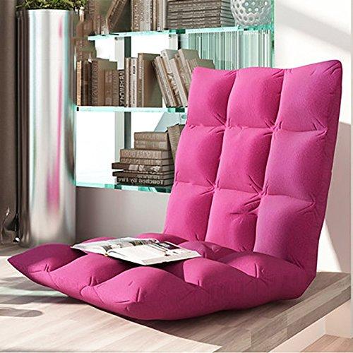 Faules Sofa Faul Sofa Boden Tattoo Falten Sofa Kleine Sofa Stuhl Einzelbett Rückenlehne Stuhl Anhänger Fenster Stuhl Liegen Stuhl ( Farbe : Pink (large) )