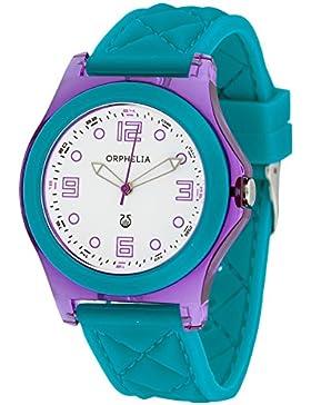 Orphelia Damen-Armbanduhr Analog Quarz Silikon OR22172819