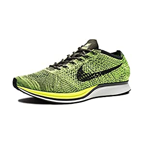 51a4CPqtW%2BL. SS300  - Nike Men's Flyknit Racer Running Shoes