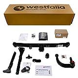 Westfalia Abnehmbare Anhängerkupplung für Fiesta (BJ ab 02/2013) im Set mit 13-poligem fahrzeugspezifischen Elektrosatz