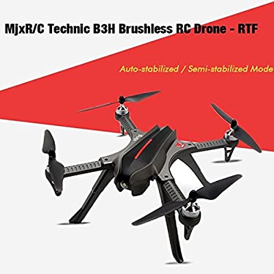 WSWRJY Drones,Drone Camera,Professional Camera Drone Mjx Bugs 3 B3 2.4G Brushless Motor Independent Esc Drone With 1080P Camera