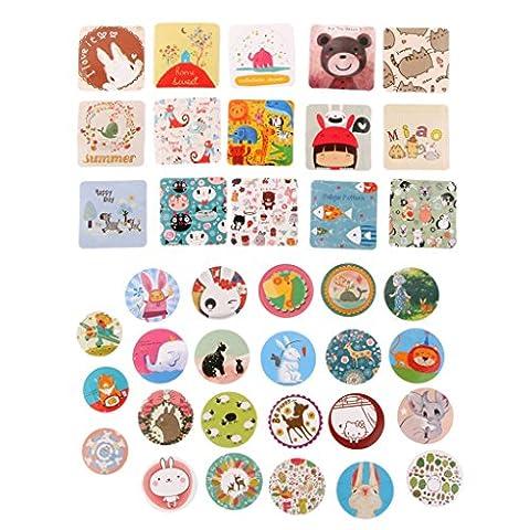 Stickers Autocollants Décoration Scrapbooking Artisanat Animaux