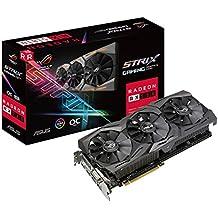 Asus Radeon RX 580 ROG STRIX GAMING OC 8 GB GDDR5 DP/HDMI/DVI-D Graphics Card - Black
